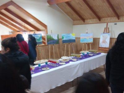 """SENDA Previene Río Bueno dio inicio al Mes de la Prevención con exposición """"Pintar en Familia"""""""