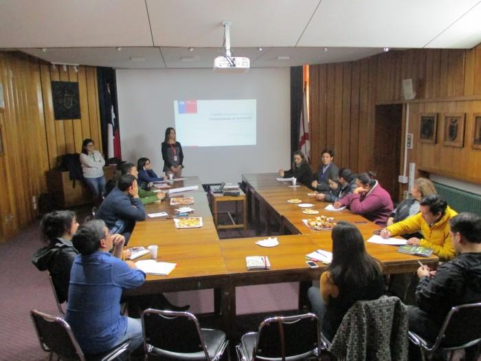 SENDA Previene Valdivia efectuó conversatorio sobre drogas con su comisión comunal