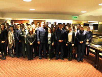 SENDA capacita a la Fuerza Aérea de Chile en prevención de drogas y alcohol