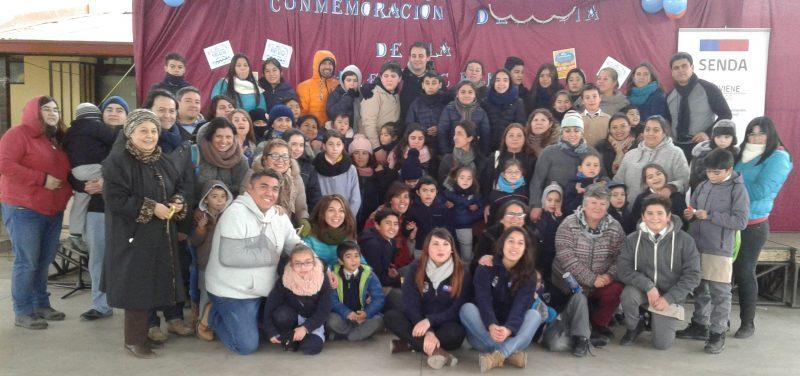 Senda Coinco celebró junto a Colegio Huallilén, el Día de la Prevención 2017