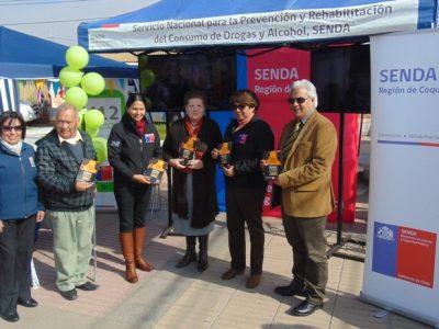 Realizan difusión de campaña en Coquimbo