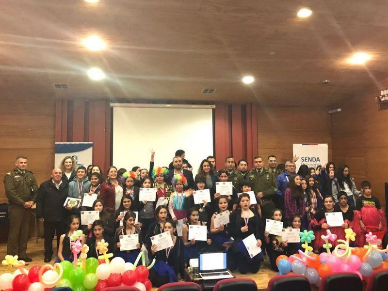 Con Musicales Preventivos Escolares  se cierran actividades por Mes de la Prevención en Puerto Montt