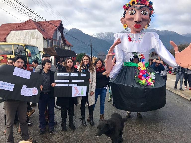 Cierran proyecto Palena Preventiva  con carnaval  en la comuna de Hualaihué