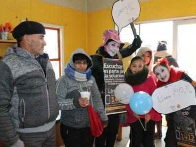 SENDA Aysén Lanzó Campaña de Prevención en Feria «Las Quintas» de Coyhaique