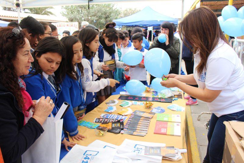 Comunidad educativa de la Escuela D-18 se sumó a la campaña SENDA