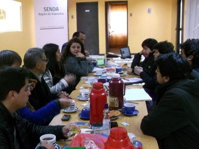 Consejo de la Sociedad Civil de SENDA cumple dos años actuando en la región de Valparaíso