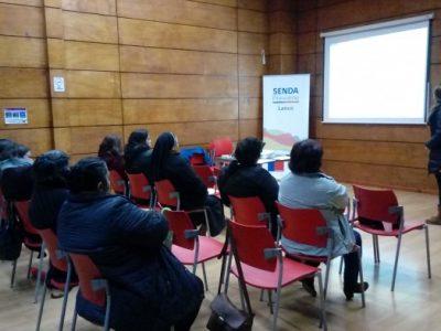 SENDA Previene Lanco desarrolló capacitación en Fortalecimiento Parental