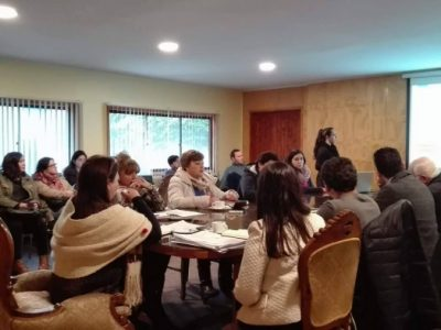 SENDA Previene Paillaco presentó su trabajo ante el Concejo Municipal