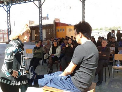 Con teatro conmemoran Mes de la Prevención en Camiña