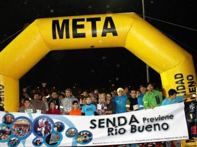 Un centenar de personas corrieron por la prevención en Río Bueno