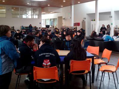 """Senda Previene Santa María realiza tercer café dialogo """"Tu opinión nos importa"""""""