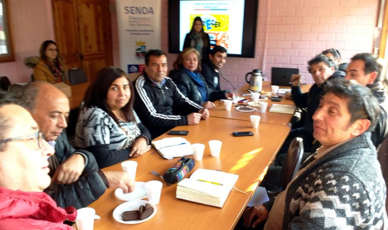 Directores y docentes de San Esteban  dialogan en torno a los resultados del último Estudio de Drogas en Chile