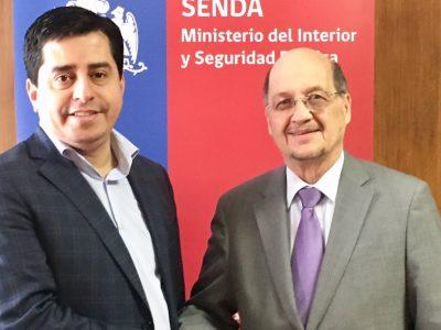 Director de SENDA abordó con senador Pedro Araya realidad del consumo de drogas en Antofagasta