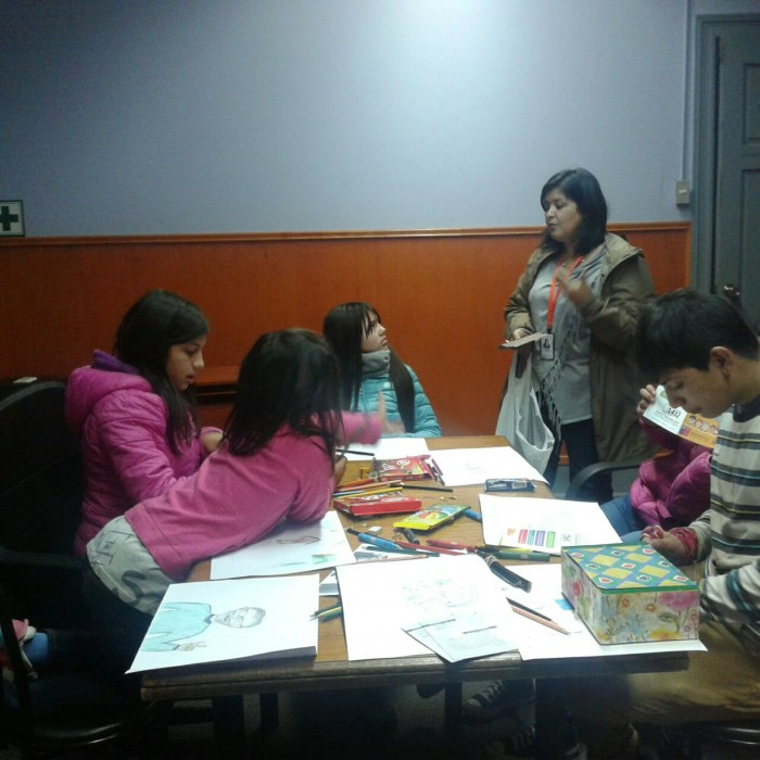 SENDA Previene Valdivia realizó talleres de prevención y autocuidado a niños, niñas y adolescentes de Residencia Casa Paz.