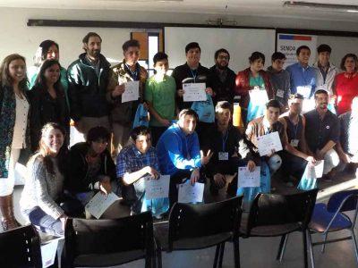 Jóvenes de Rodelillo son certificados en Escuela de Liderazgo para fortalecer el trabajo comunitario y promover culturas preventivas