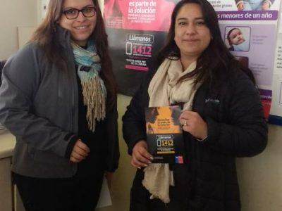 Difunden Fono Drogas y Alcohol en consultorios de La Serena
