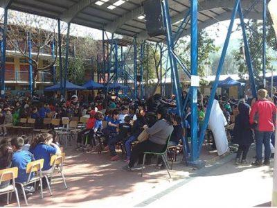 En Huechuraba potencian la comunicación entre estudiantes y apoderados