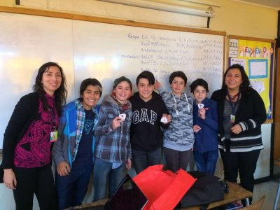 SENDA Previene Vitacura realiza acompañamiento a colegio donde se aplica Continuo Preventivo