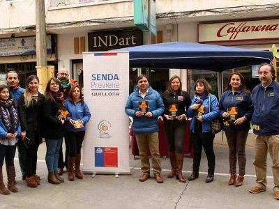 """Campaña """"Escuchar es parte de la Solución"""" se difunde ampliamente a la comunidad Quillotana"""