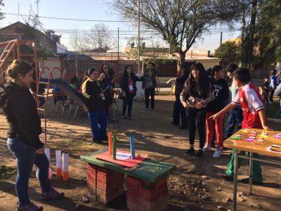 SENDA Previene Renca desarrolla entretenidas actividades junto a vecinos