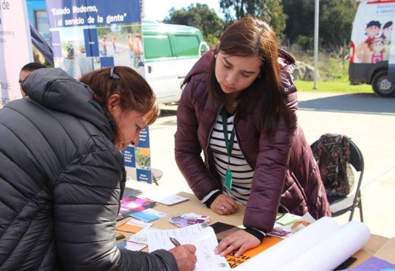 SENDA Previene Melipilla difunde campaña Escuchar es parte de la solución en San Pedro