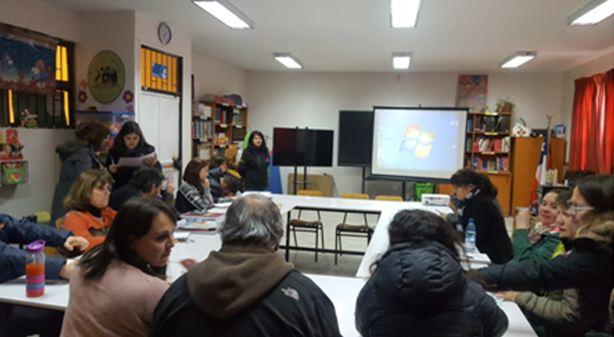 Previene La Cisterna capacita a docentes del Colegio Antu sobre Continuo Preventivo