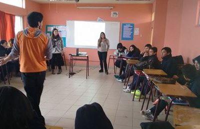 SENDA Previene Melipilla fomenta los estilos de vida saludables entre estudiantes