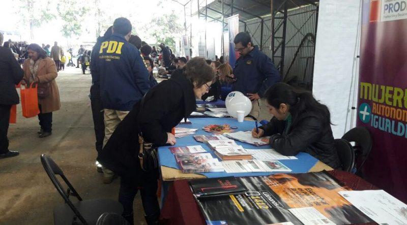SENDA Previene Melipilla difunde campaña en Gobiernos Presentes