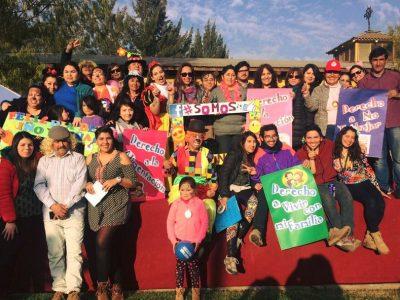 Niños y niñas de Melipilla disfrutan de una entretenida jornada junto a sus familias