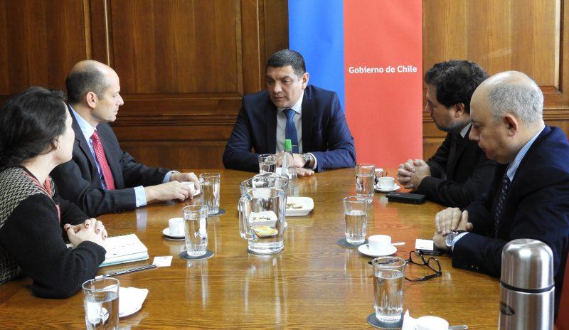 Director (S) de SENDA se reunió con secretrario ejecutivo de la CICAD/OEA, Adam Namm