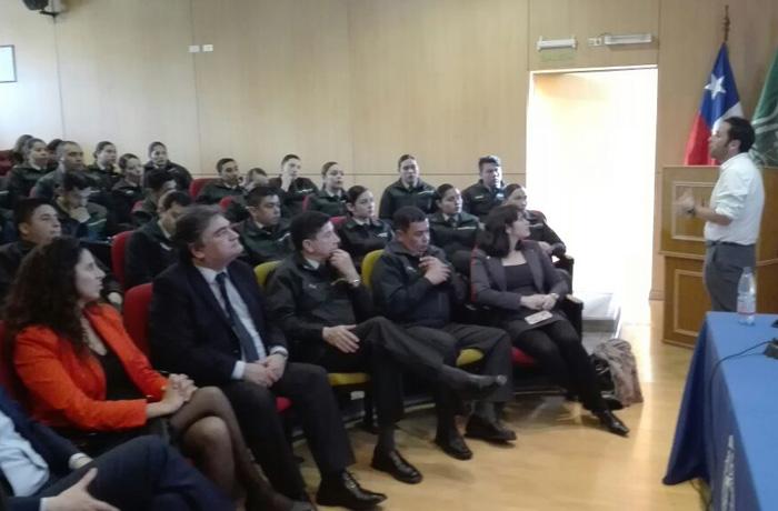 Gendarmería inicio política deportiva y recreativa para funcionarios con taller preventivo de consumo de drogas