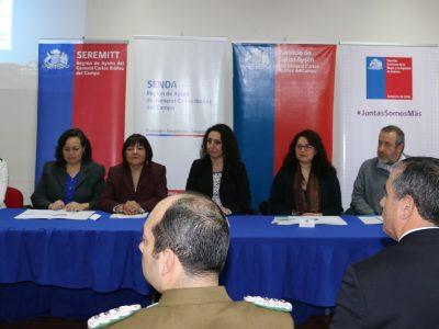 Aysén se transforma en la primera región en firmar Plan Regional de Alcohol 2017-2020