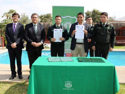 Gendarmería se suma al programa Trabajar con Calidad de Vida en Arica