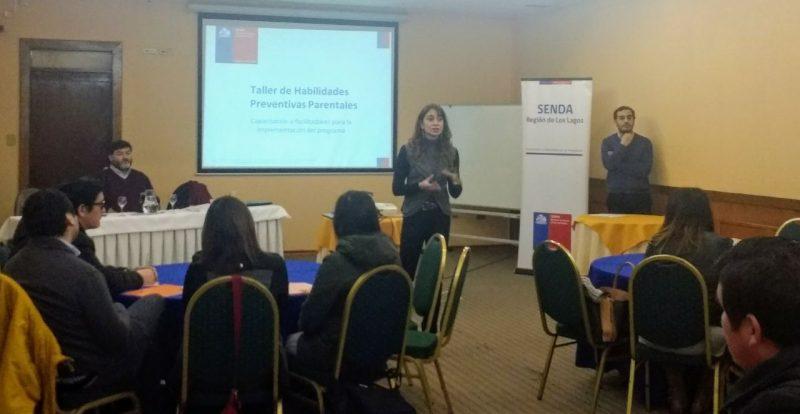Más de 30 organizaciones laborales de la región participaron en capacitación en habilidades preventivas parentales