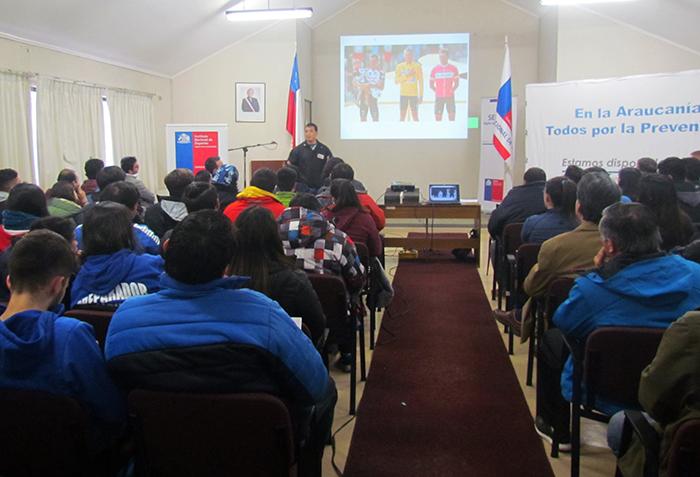 Senda y el IND realizan  seminario pionero de prevención de alcohol, drogas y suplementos alimenticios.