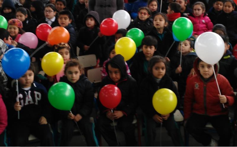 Fiesta Preventiva Infantil en Huequén de Angol