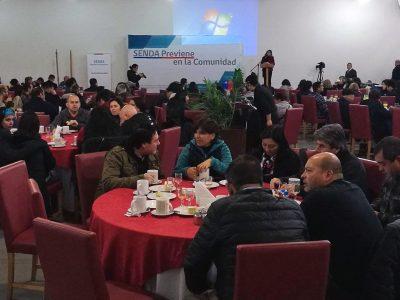 Con amplia participación de la comunidad en El Tabo se realizó seminario de liderazgo social en el contexto de prevención de drogas