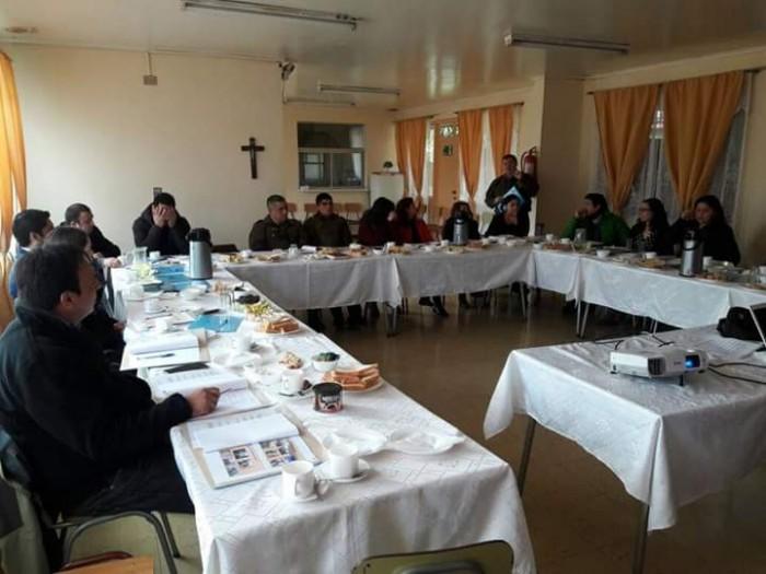 SENDA Previene Lanco participó en reunión de la Red Intercomunal para la Prevención del Consumo de Sustancia Psicoactivas