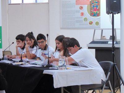 SENDA Previene Quilicura desarrolla nueva etapa de los Debates Estudiantiles