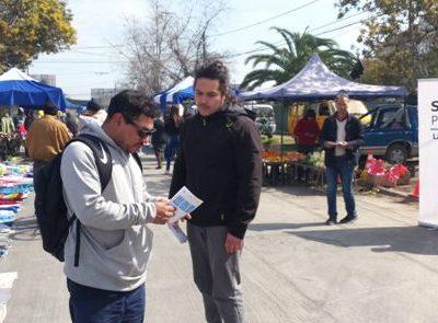 Difunden fono drogas 1412 a vecinos y vecinas de La Cisterna