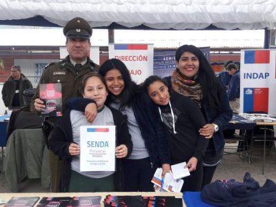SENDA Previene Melipilla difunde fono drogas 1412 en Alhué