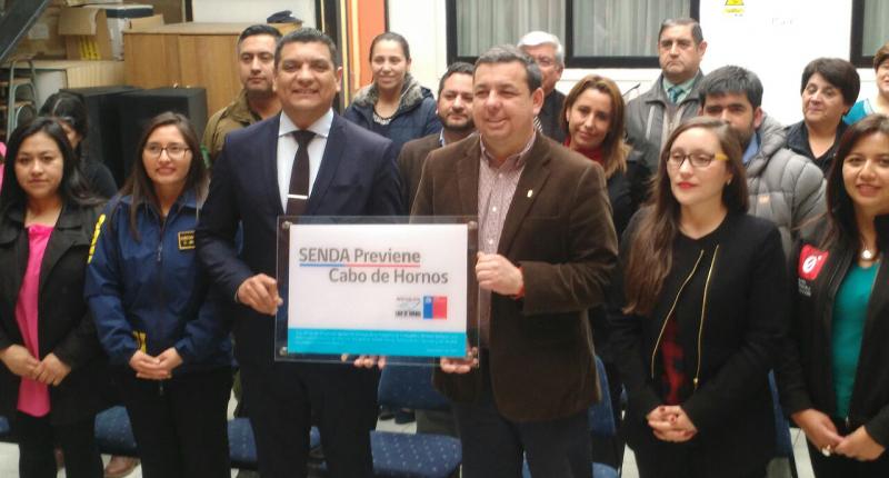 SENDA inauguró en Cabo de Hornos la oficina Previene más austral de Chile