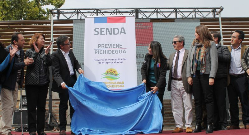 SENDA inaugura nueva oficina Previene en Pichidegua y amplía la cobertura en la Región de O'Higgins