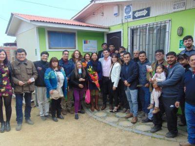 Inauguran nuevas dependencias para centro de tratamiento en Los Vilos