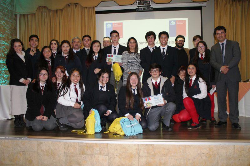 Liceo Bicentenario Víctor Jara de Peralillo obtiene Primer lugar en Debate de SENDA O'Higgins.