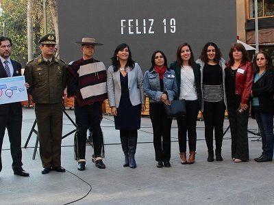 SENDA participa en lanzamiento de campaña «Este 18 pásalo bien, pero pásalo» para prevenir accidentes de tránsito en Fiestas Patrias