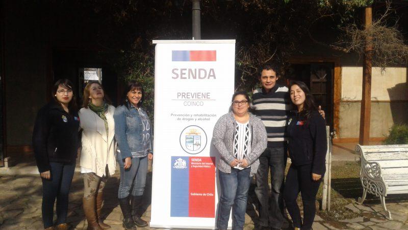 SENDA Coinco, apoyando a Mipes de la comuna