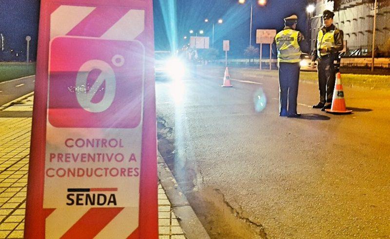 SENDA realizó cerca de 12 mil controles preventivos a conductores durante Fiestas Patrias