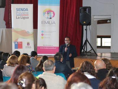 Directora nacional de Senda visita la Región de OHiggins