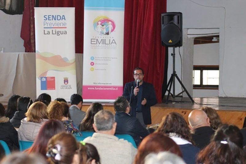 Con seminario de Formación Ciudadana, Seguridad Pública y Delitos Viales comunidad de La Ligua se sensibiliza sobre seguridad y conducción